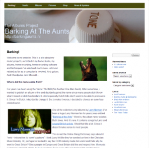 Barking At The Aunts free mp3 music, downloads, online album sales